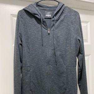 3 Woman's zip up hoodies